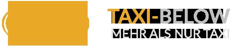 Taxi Below Logo